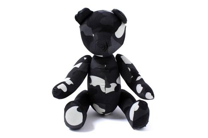 A Bathing Ape CITY CAMO TEDDY BEAR