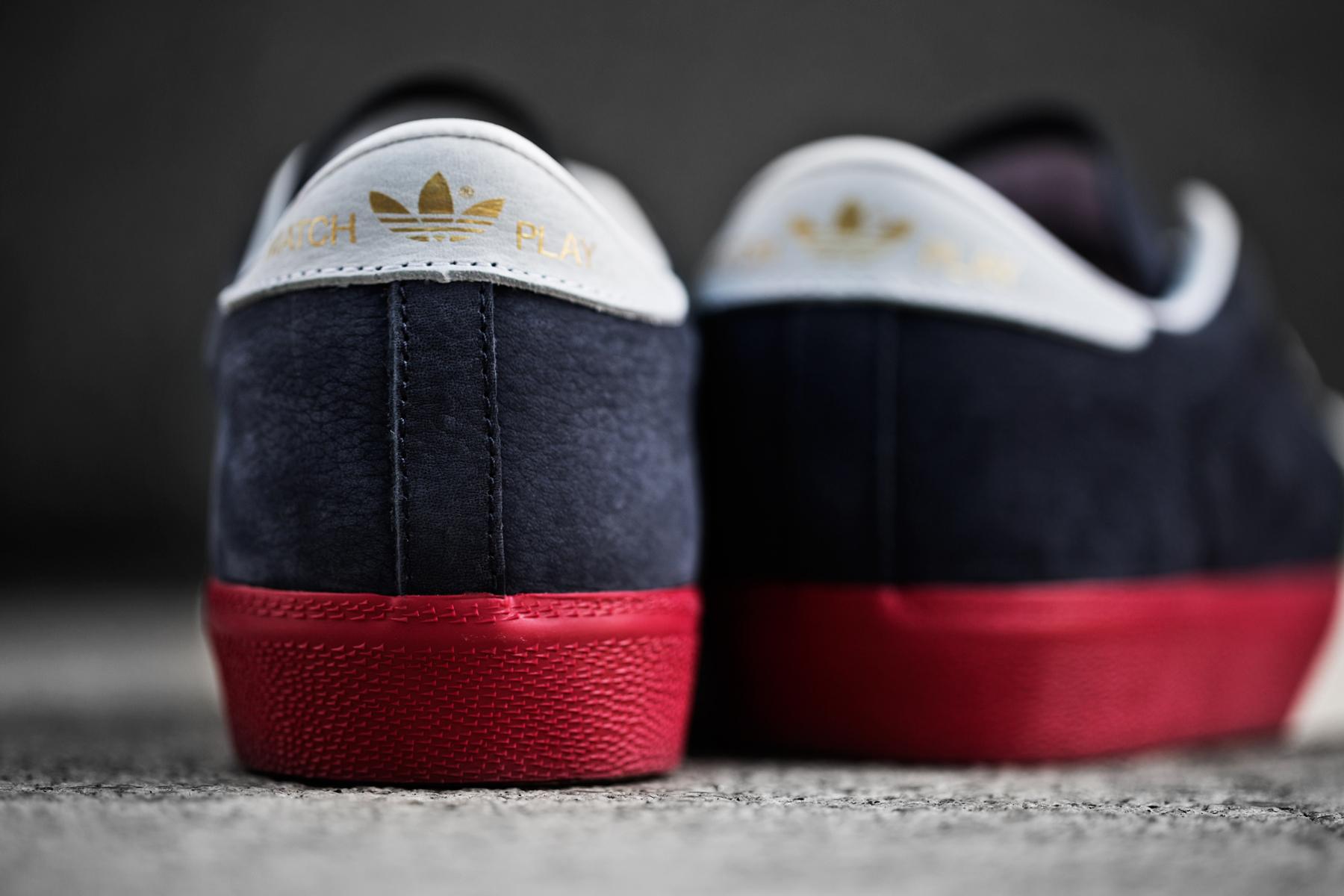 a closer look at the adidas originals blue matchplay remix oddity