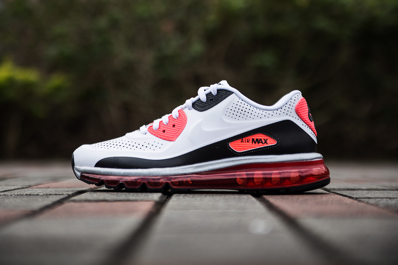 "A Closer Look at the Nike Air Max 90-2014 ""Infrared"""