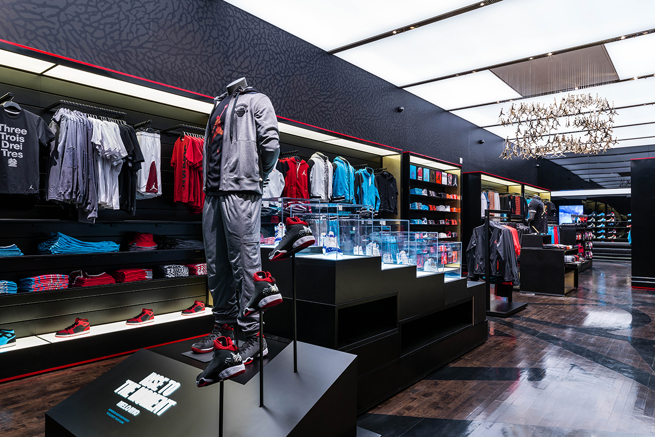 A First Look At Flight 23 - The First Jordan-Only Retail Store in North America