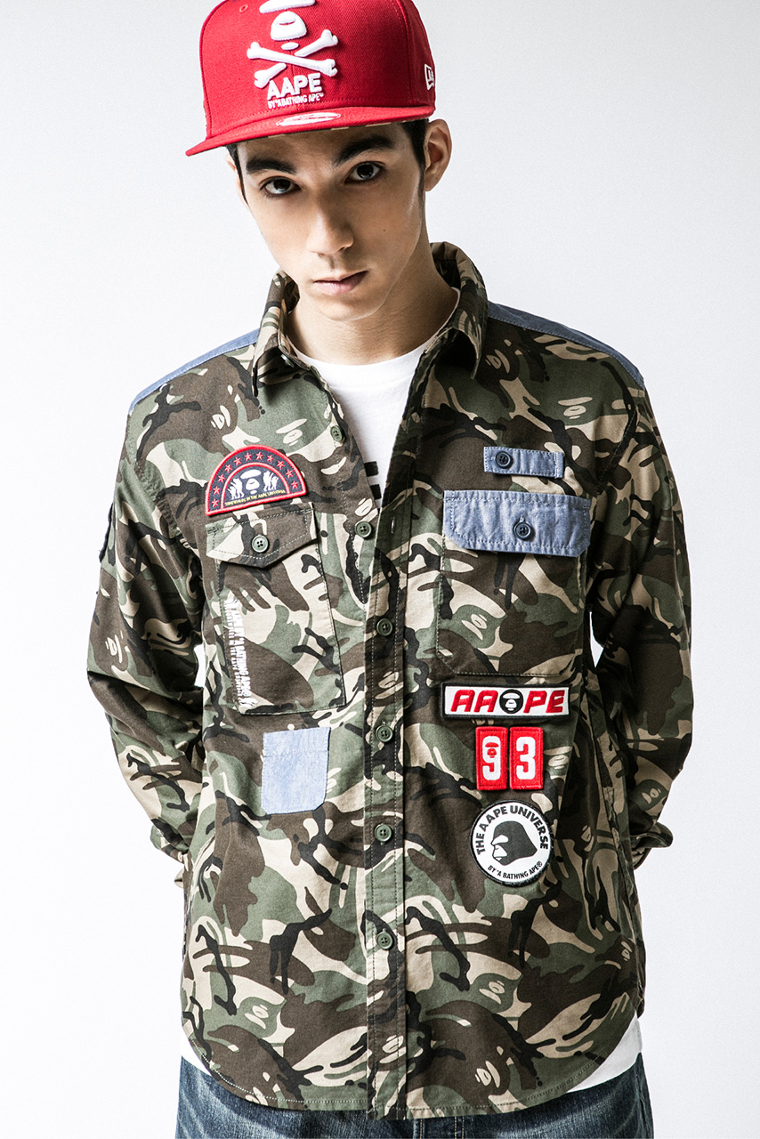 AAPE by A Bathing Ape 2014 Spring/Summer Lookbook