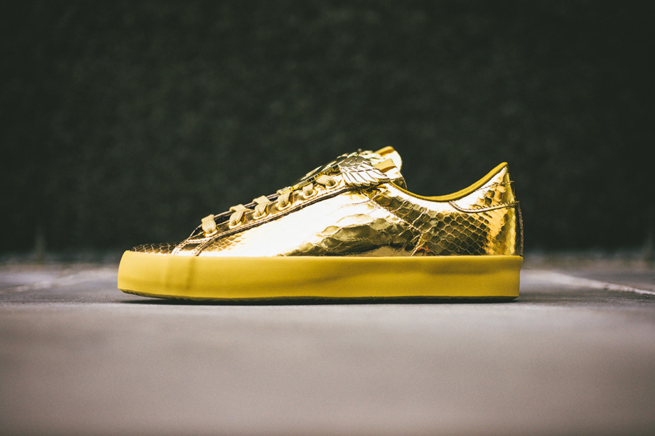 "adidas Originals by Jeremy Scott 2014 Spring JS Rod Laver ""Gold Foil"""