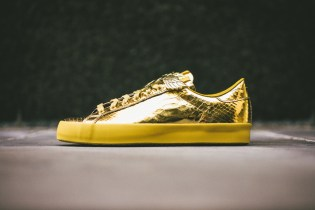 "adidas Originals by Jeremy Scott 2014 Spring JS Rod Laver ""Gold Foil"""