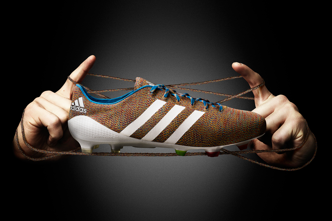 adidas Unveils the World's First Knitted Football Boot