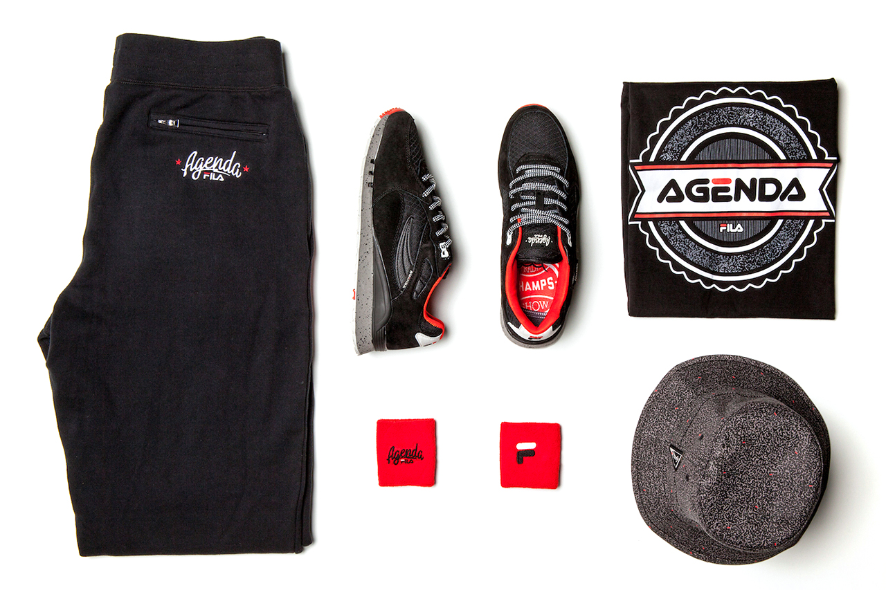 Agenda x FILA 2014 Capsule Collection