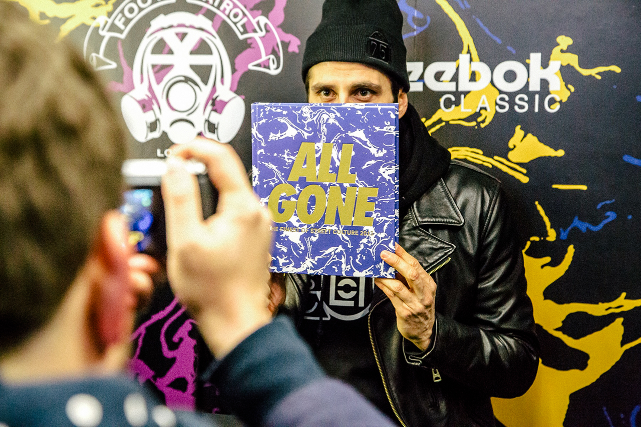all gone 2013 book launch foot patrol london