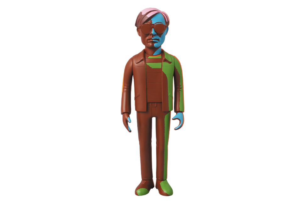 Andy Warhol x Medicom Toy Vinyl Collectible Dolls