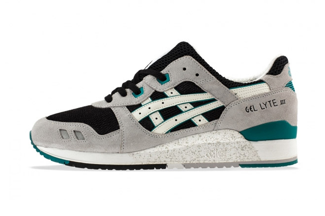 ASICS Gel Lyte III Grey/Black/Teal