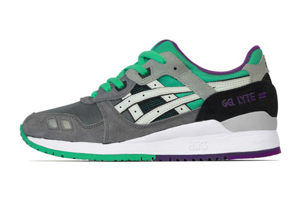 asics gel lyte iii grey white