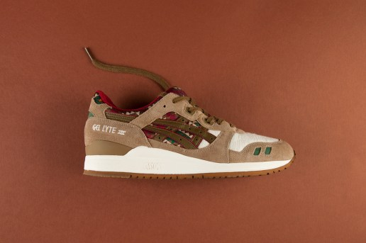 ASICS Gel Lyte III Light Brown/Olive
