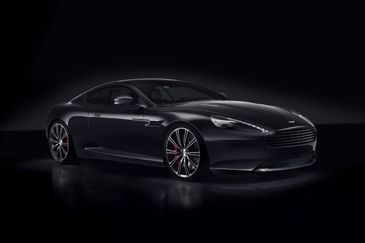 Aston Martin DB9 Carbon Black and White Special Editions