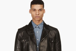 Balmain 2014 Spring/Summer Leather Jacket Collection