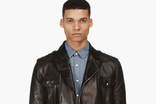 Balmain 2014 Spring/Summer Leather Jacket Collection