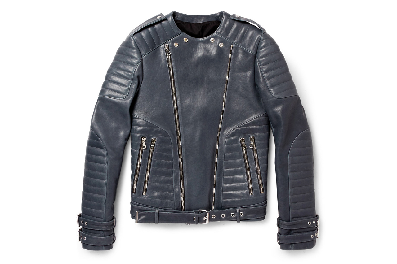 Women's Balmain Jackets Balmain jackets are the easiest way to command attention. Forget the Left Bank look of trench coats and Breton stripes, this is one French brand that proves it's anything but classic with this collection of amped-up military blazers and directional leather jackets.