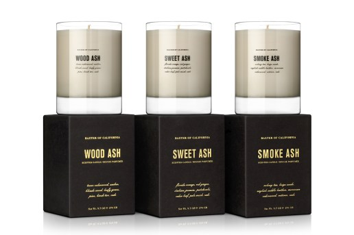 Baxter of California Ash Candle Series
