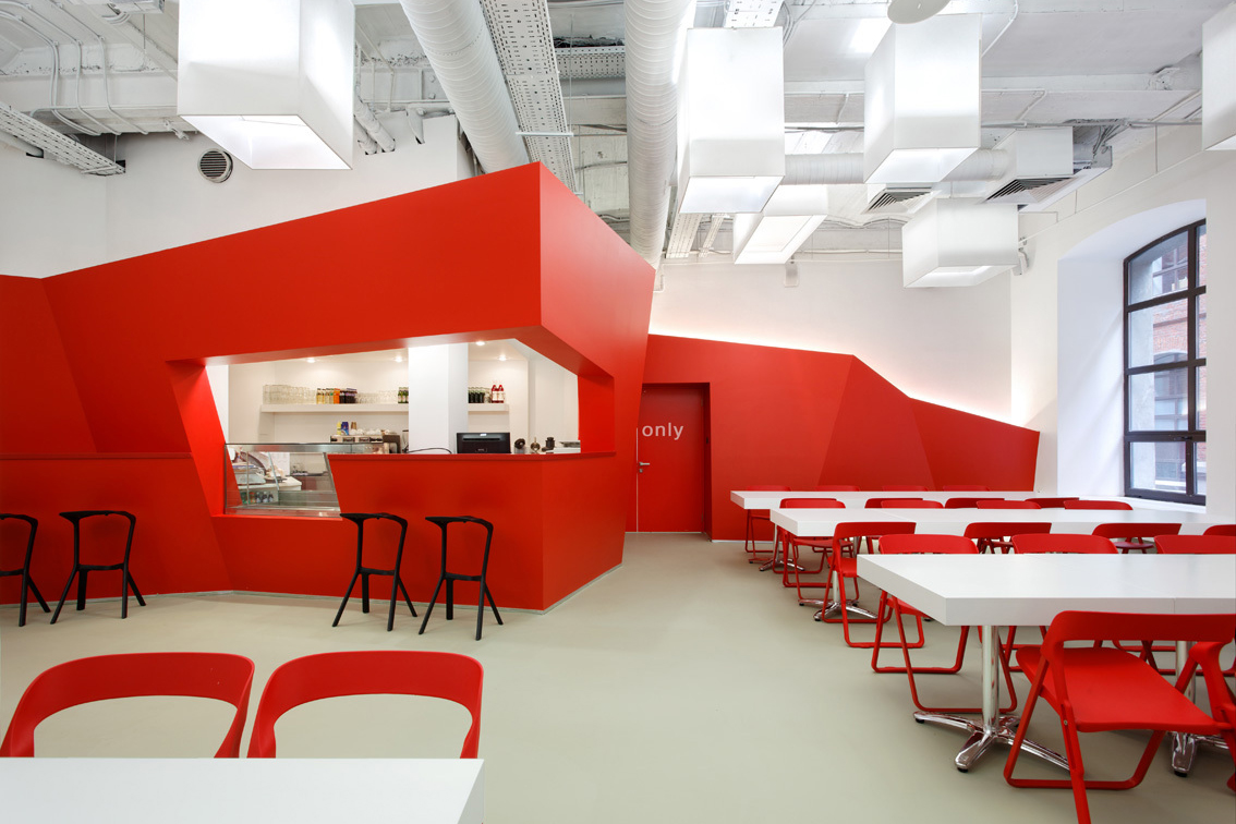 BBDO Group Moscow Offices by Nefaresearch