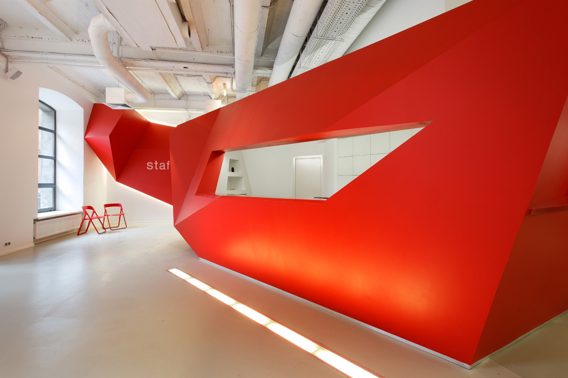 Bbdo group moscow offices by nefaresearch hypebeast for Bbdo office design 9