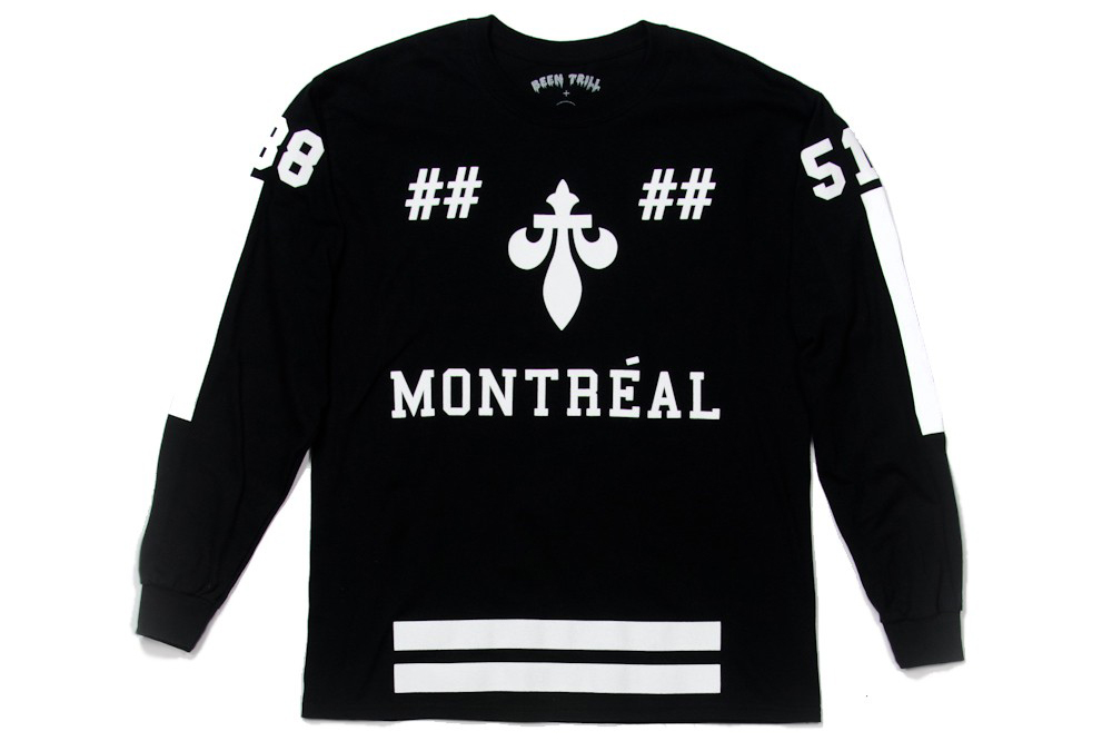 been trill x off the hook je me souviens t shirt