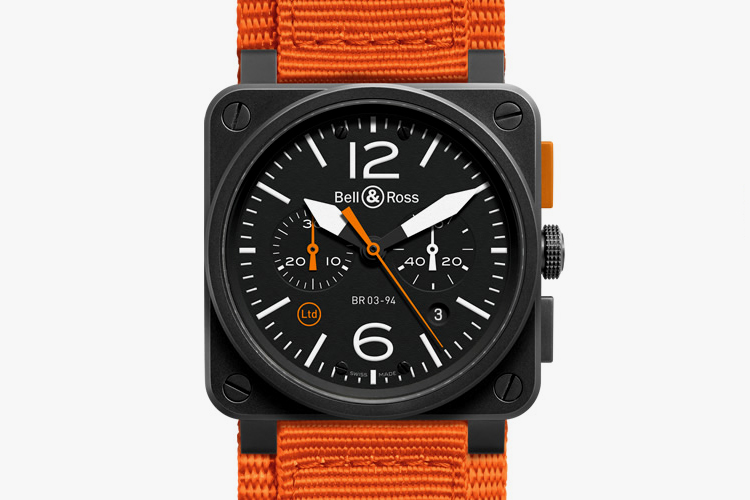 "Bell & Ross BR 03-94 ""Carbon Orange"""