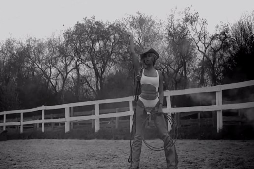 "Beyoncé featuring Jay Z & Kanye West ""Drunk In Love"" Music Video Teaser"