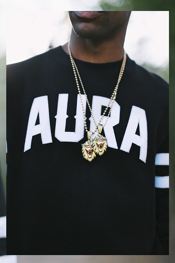 big sean unveils aura gold 2014 spring lookbook