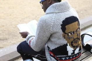 """Bodega x Granted """"Malcolm X"""" Wool Sweater"""