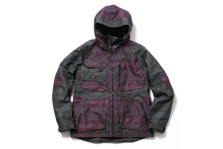 BURTON THIRTEEN Jacquard Alces Jacket