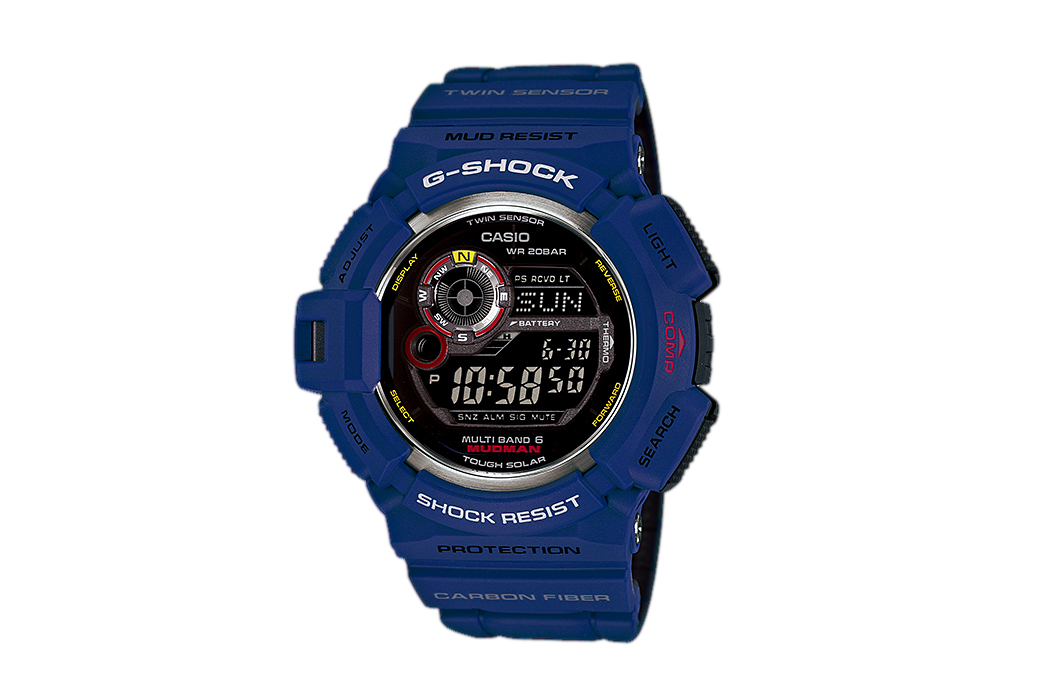 casio g shock 2014 men in navy collection