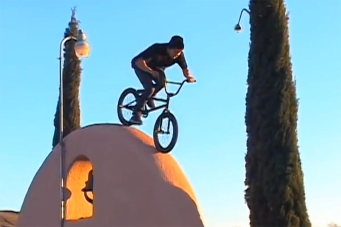 Check Out Tate Roskelley's Creative BMX Stunts
