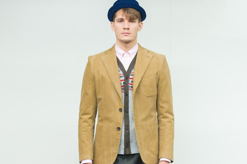 COMME des GARCONS HOMME 2014 Fall/Winter Collection