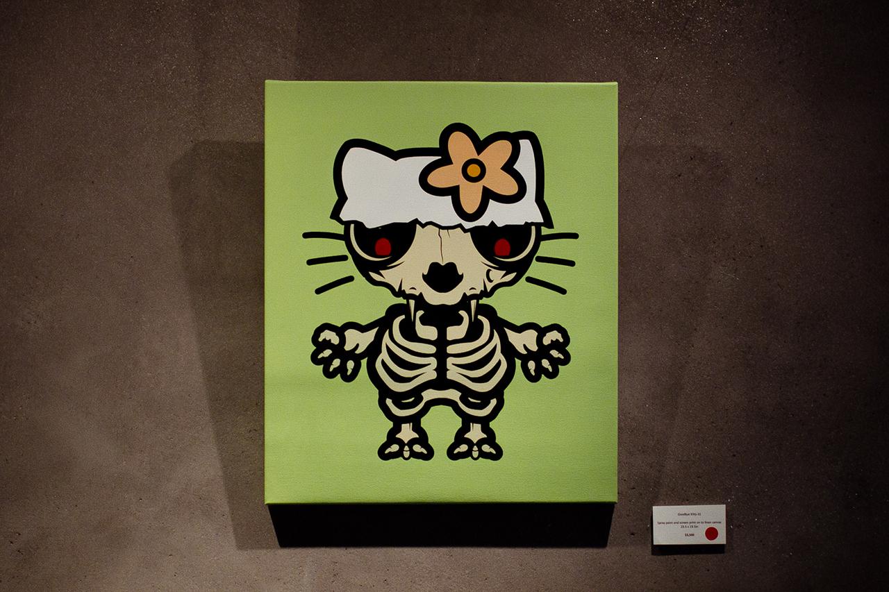 "D*Face ""One Man & His Dog"" Exhibition @ Stephen Webster Recap"