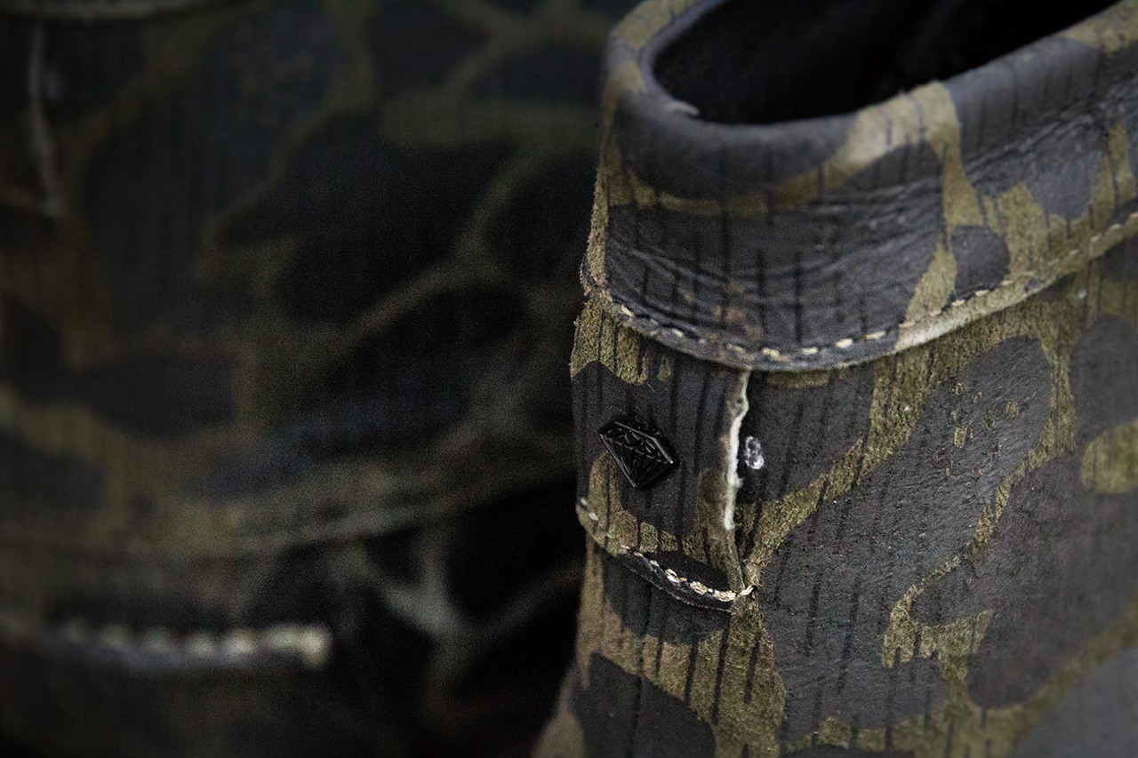 diamond supply co g i boot rain fog camo