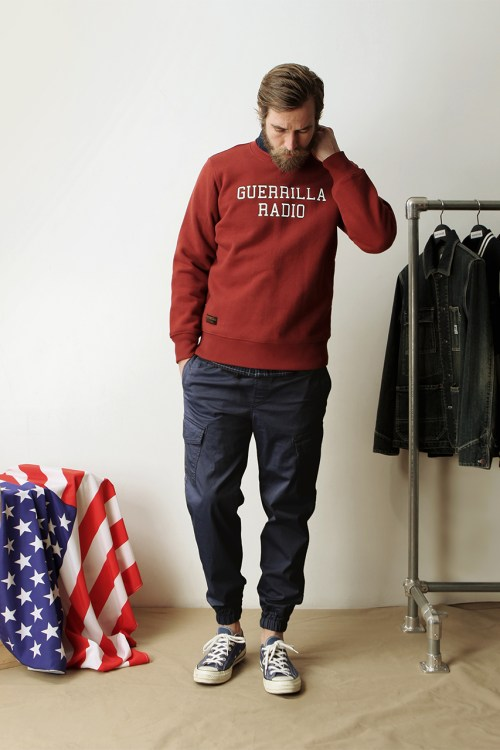 "Espionage 2014 Spring/Summer ""Silent Majority For Peace"" Lookbook"
