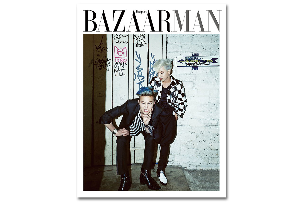 G-Dragon & Taeyang for Harper's BAZAAR Man No.5