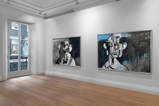 "George Condo ""Ink Drawings"" @ Skarstedt Gallery London"