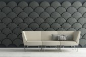 Ginkgo Acoustic Panels by Stone Designs