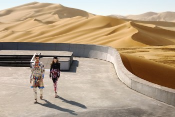 """Givenchy 2014 Spring/Summer """"Driving the Dunes of Erg Chebbi"""" Editorial"""