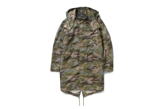 Givenchy Camouflage-Print Hooded Parka