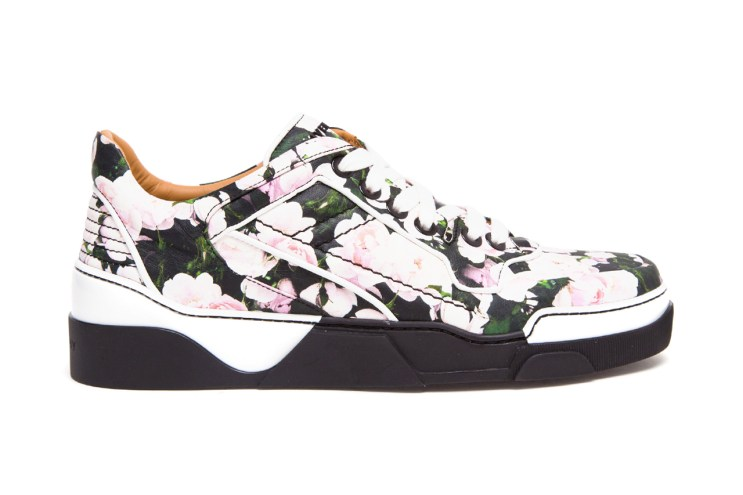 Givenchy Tyson Low Top Floral Print