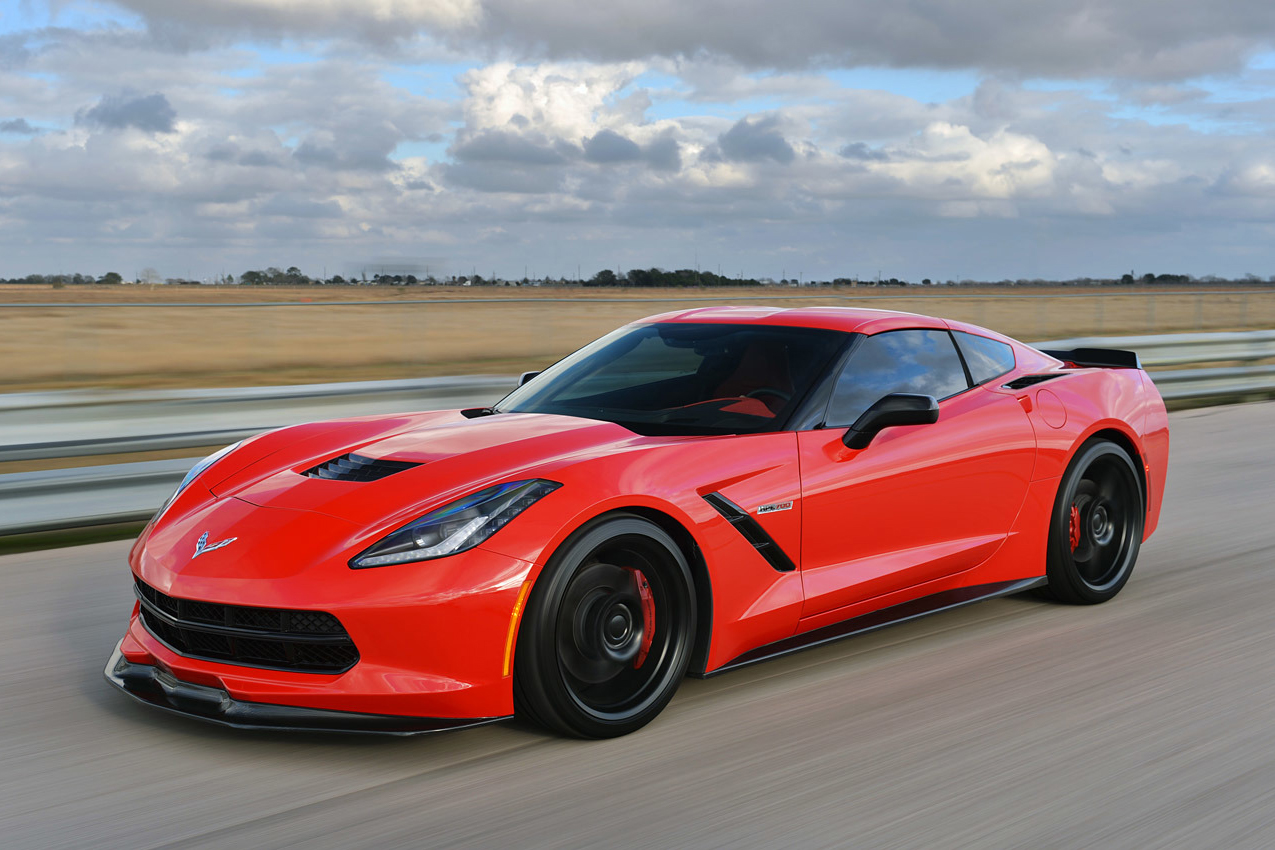 Hennessey Twin-Turbo Corvette Stingray HPE700