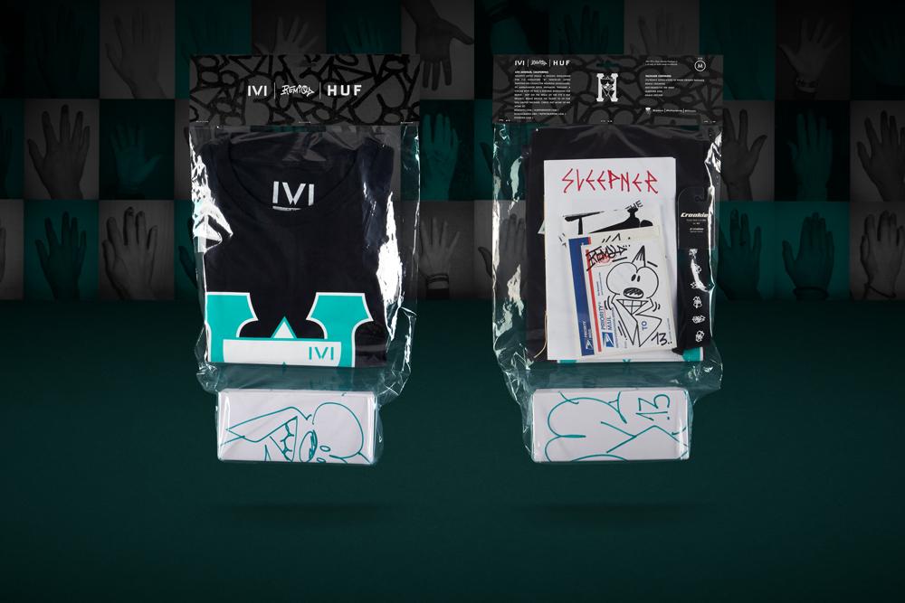 HUF x REMIO x IVI 2014 T-shirt and Sunglass Capsule