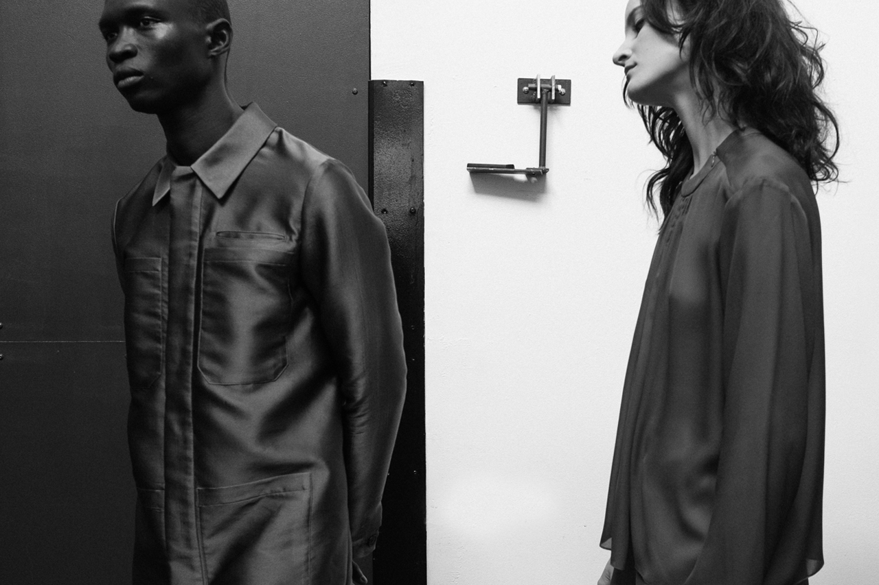 hypebeast goes backstage at duckie browns 2014 fall winter show