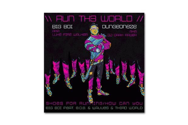 Big Boi featuring B.o.B. & Wavves & Third World – Run Th3 World