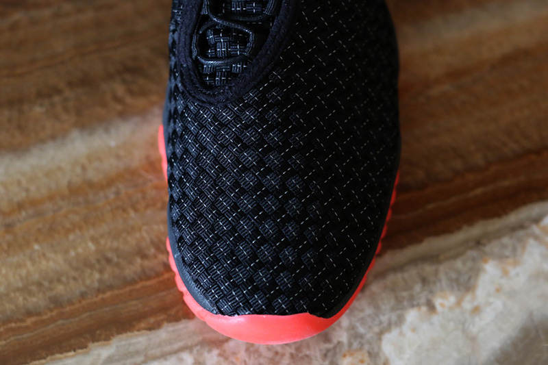 jordan future black infrared