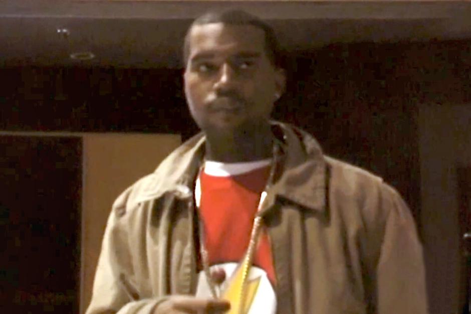 """Kanye West's """"Never Let Me Down"""" Studio Session"""