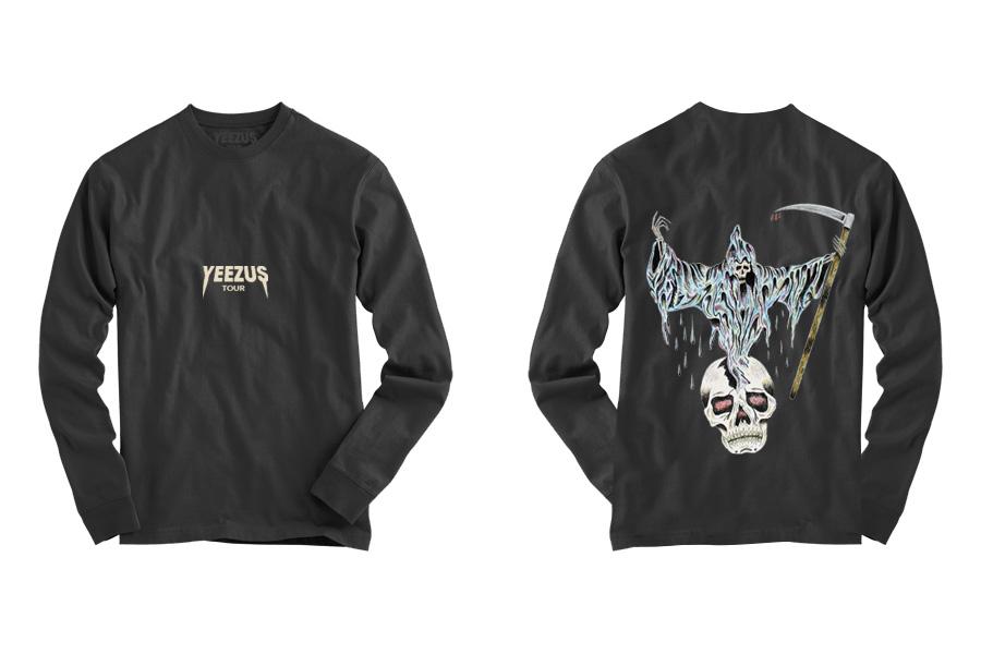 kanye wests new yeezus tour merchandise