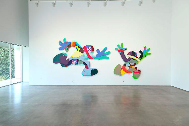 kaws play your part galeria javier lopez