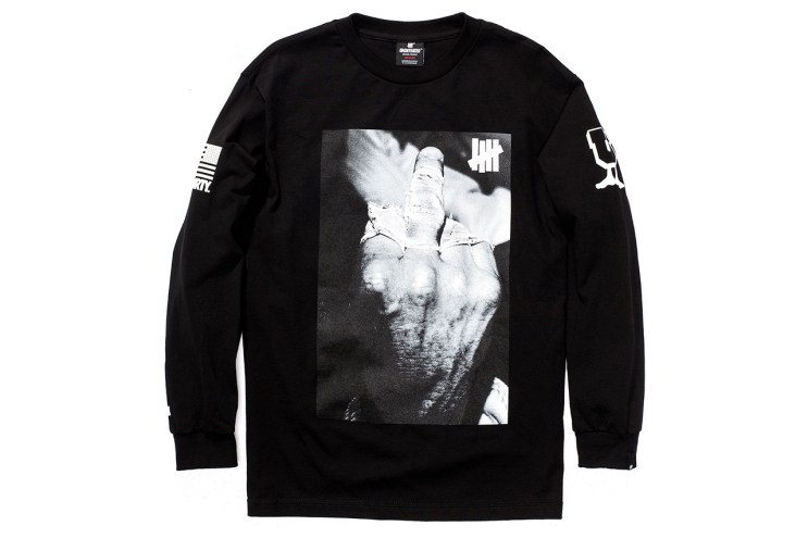 """Kenneth Cappello x Undefeated """"Bloodchoke"""" Long-Sleeve T-Shirt"""
