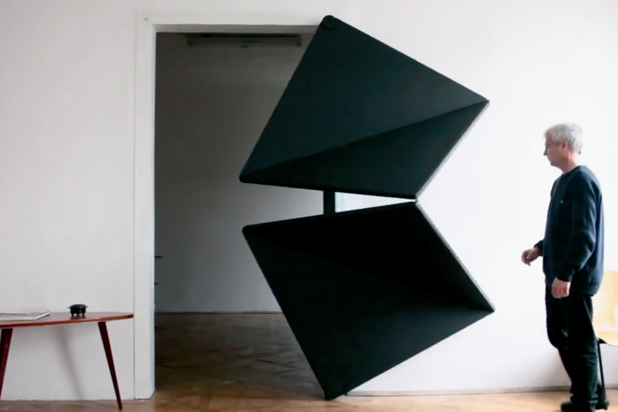 """Klemens Torggler The Origami """"Evolution"""" Door"""