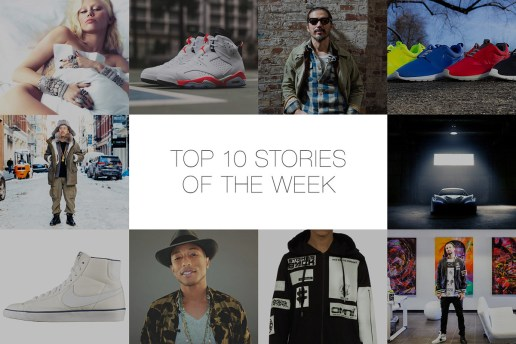 Last Week's Top 10 Stories on HYPEBEAST